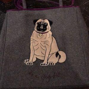 Lulu Guinness Pug Tote